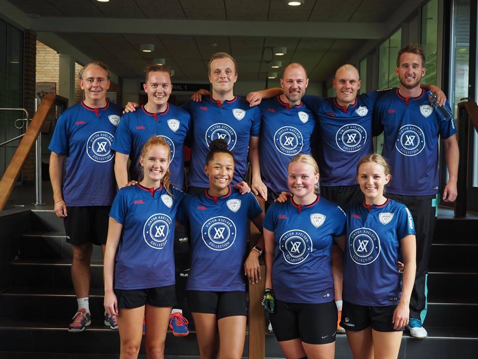 Badminton i Odense - holdbillede